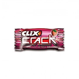 Chicle Clix Crack Fresa