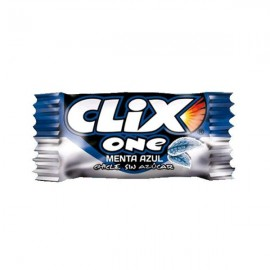 Chicle Clix One Menta Azul