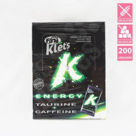 CHICLE KLETS ENERGY