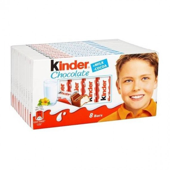 Kinder Chocolate (10 cajas)
