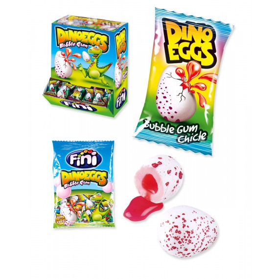 HUEVOS DINO ENV.CHICLE