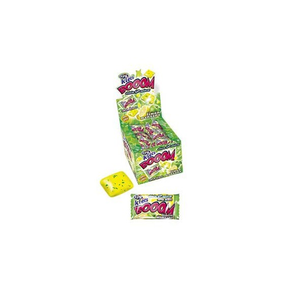 CHICLE KLETS BOOM LIMON/MANZANA