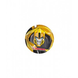 Platos Transformers Power Up (23 cm) 8 unidades
