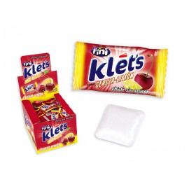 Chicle Klets Cereza-Limon Sin Azucar
