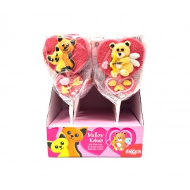 Brochetas Mallow Gatos