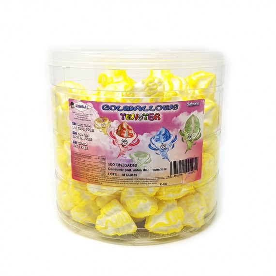 Golmallows Twister Amarillo