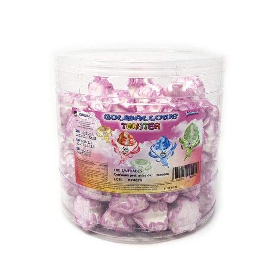 Golmallows Twister Morado