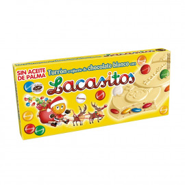 Lacasitos Turrón Chocolate Blanco 215 Gr