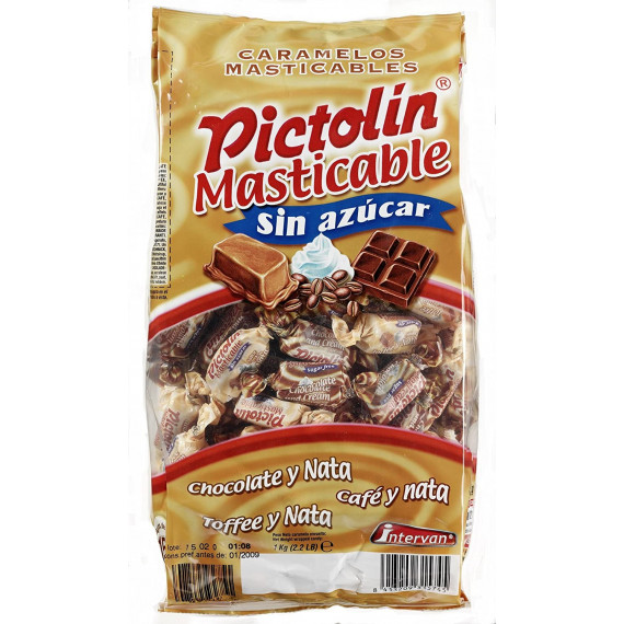 Pictolin Masticable Chocolate, Toffee y Creme