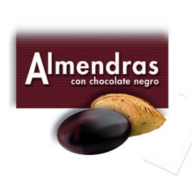 ALMENDRA CALIFORNIA CHOCOLATE NEGRO