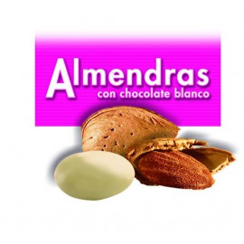 ALMENDRA CALIFORN.CHOC.BLANCO