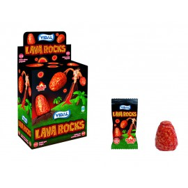 Lava Rock Chicle Grageado Envuelto